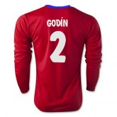 Maillot Atletico De Madrid Ml Godin Domicile 2015 2016