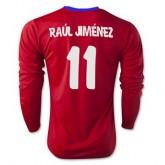 Maillot Atletico De Madrid Ml Raul Jimenez Domicile 2015 2016