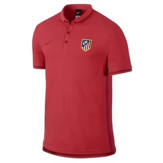 Maillot Atletico De Madrid Polo Rouge 2016