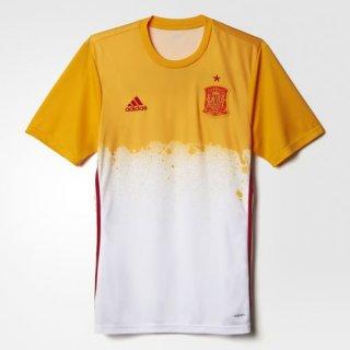 Maillot Avant-Match Espagne Blanc 2016 2017