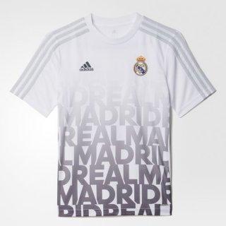 Maillot Avant-Match Real Madrid Blanc 2016