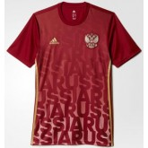 Maillot Avant-Match Russie Rouge 2016 2017