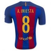 Maillot Barcelone A.Iniesta Domicile 2016 2017