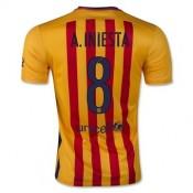 Maillot Barcelone A.Iniesta Exterieur 2015 2016