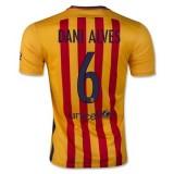 Maillot Barcelone Dani Alves Exterieur 2015 2016