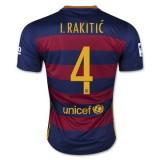 Maillot Barcelone I.Rakitic Domicile 2015 2016
