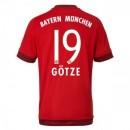 Maillot Bayern Munich Gotze Domicile 2015 2016