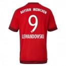 Maillot Bayern Munich Lewandowski Domicile 2015 2016