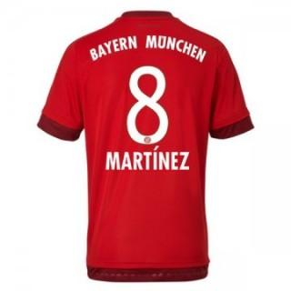 Maillot Bayern Munich Martinez Domicile 2015 2016