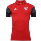 Maillot Bayern Munich Polo Rouge 2017
