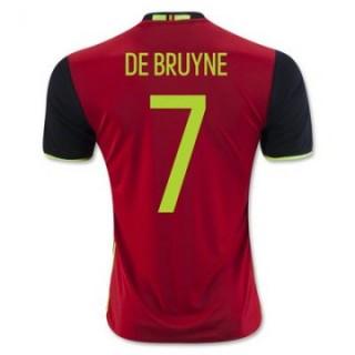 Maillot Belgique De Bruyne Domicile Euro 2016