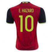 Maillot Belgique E Hazard Domicile Euro 2016