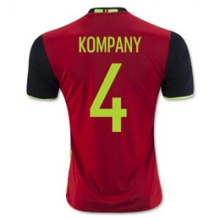 Maillot Belgique Kompany Domicile Euro 2016
