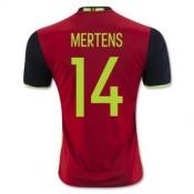 Maillot Belgique Mertens Domicile Euro 2016
