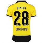 Maillot Borussia Dortmund Ginter Domicile 2015 2016