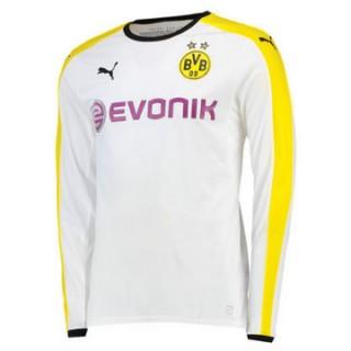 Maillot Borussia Dortmund Manche Longue Troisieme 2015 2016