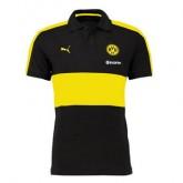 Maillot Borussia Dortmund Polo Noir 2016 2017