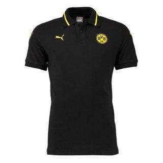 Maillot Borussia Dortmund Polo Noir 2016