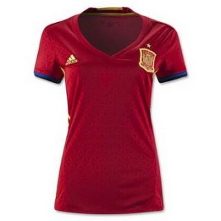 Maillot Espagne Femme Domicile Euro 2016