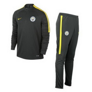 Maillot Formation Ml Manchester City Gris 2016 2017