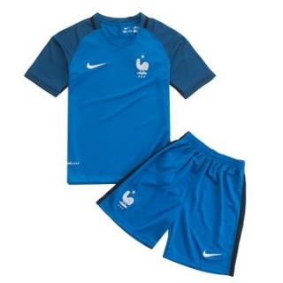 Maillot France Enfant Domicile Euro 2016