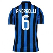 Maillot Inter Milan Andreolli Domicile 2015 2016