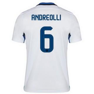 Maillot Inter Milan Andreolli Exterieur 2015 2016