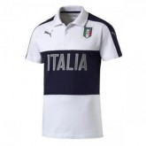 Maillot Italie Polo Blanc 2016 2017