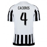 Maillot Juventus Caceres Domicile 2015 2016