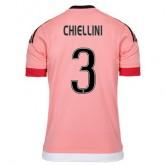 Maillot Juventus Chiellini Exterieur 2015 2016