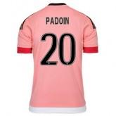 Maillot Juventus Paddoin Exterieur 2015 2016