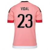 Maillot Juventus Vidal Exterieur 2015 2016