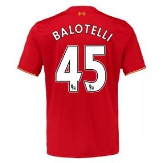 Maillot Liverpool Balotelli Domicile 2015 2016