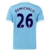 Maillot Manchester City Demichelis Domicile 2015 2016