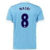 Maillot Manchester City Nasri Domicile 2015 2016