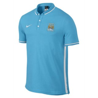 Maillot Manchester City Polo Bleu Clair 2016