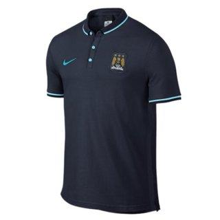Maillot Manchester City Polo Bleu Fonce 2016