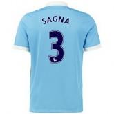 Maillot Manchester City Sagna Domicile 2015 2016