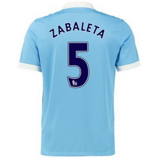 Maillot Manchester City Zabaleta Domicile 2015 2016