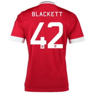 Maillot Manchester United Blackett Domicile 2015 2016