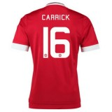 Maillot Manchester United Carrick Domicile 2015 2016