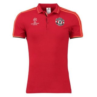 Maillot Manchester United Champion Polo Rouge 2016