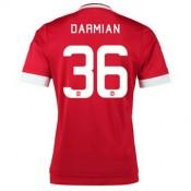 Maillot Manchester United Darmian Domicile 2015 2016