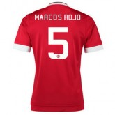 Maillot Manchester United Marcos Rojo Domicile 2015 2016