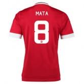 Maillot Manchester United Mata Domicile 2015 2016