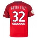 Maillot Psg David Luiz Exterieur 2016 2017
