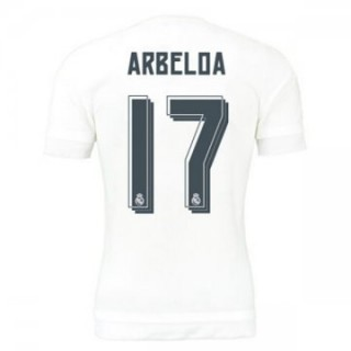 Maillot Real Madrid Arbeloa Domicile 2015 2016