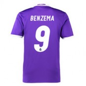Maillot Real Madrid Benzema Exterieur 2016 2017