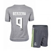 Maillot Real Madrid Enfant Benzema Exterieur 2015 2016