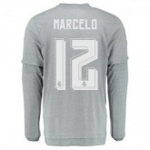 Maillot Real Madrid Manche Longue Marcelo Exterieur 2015 2016